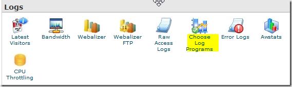 choose log program